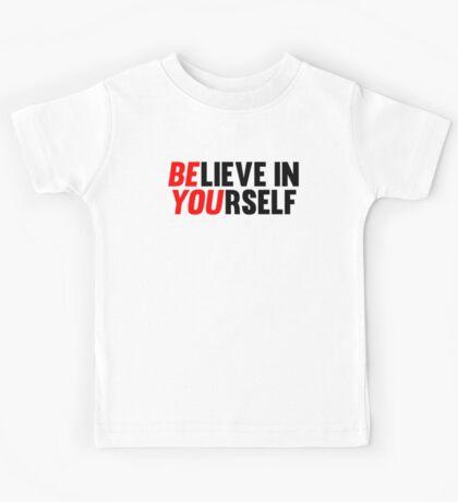 Believe in Yourself Kids Tee