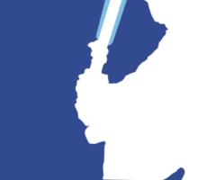 Major League Jedi Sticker