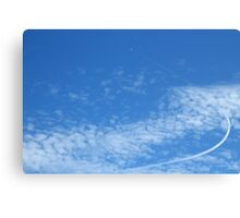 To the sky Canvas Print