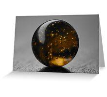 Marble Galaxy Greeting Card