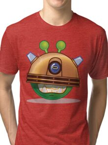 'Exterminate' Alien Tri-blend T-Shirt