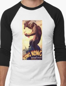 King Kong movie poster Men's Baseball ¾ T-Shirt