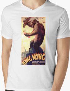 King Kong movie poster Mens V-Neck T-Shirt