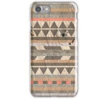Aztec Red iPhone Case/Skin