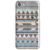 Aztec Blue iPhone Case/Skin