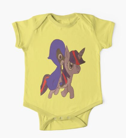raven and twilight sparkle One Piece - Short Sleeve