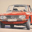 Lancia Fulvia by Peter Brandt