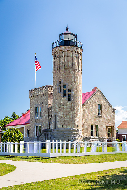 Old Mackinac Point Lighthouse by Robert Kelch, M.D.