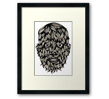 Wolf Boy Framed Print