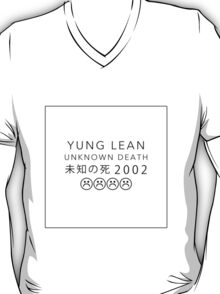 YUNG LEAN UNKNOWN DEATH 2002 T-Shirt