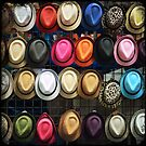 Street Hats - NYC by Robert Baker