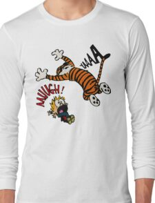 Calvin And Hobbes Fan Long Sleeve T-Shirt
