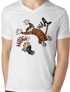 Calvin And Hobbes Fan Mens V-Neck T-Shirt