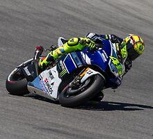 Valentino Rossi at laguna seca 2013 by corsefoto