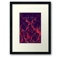 Cr0ssR0ads (Pink) Framed Print
