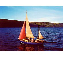 Red Sails In Broad Daylight ~ Loch Ness Photographic Print