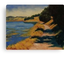 Along Rush Creek Canvas Print