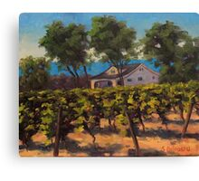 Fisher Ranch Canvas Print