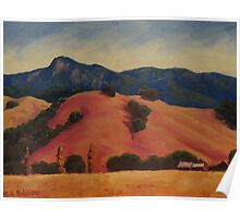 Mt. St. Helena from Calistoga Poster
