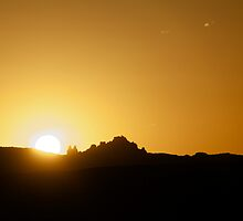 Moab Sunset by Bill Wetmore
