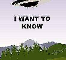 I Want To Know !  by Martin Rosenberger