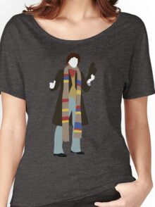 The Fourth Doctor - Doctor Who - Tom Baker Women's Relaxed Fit T-Shirt