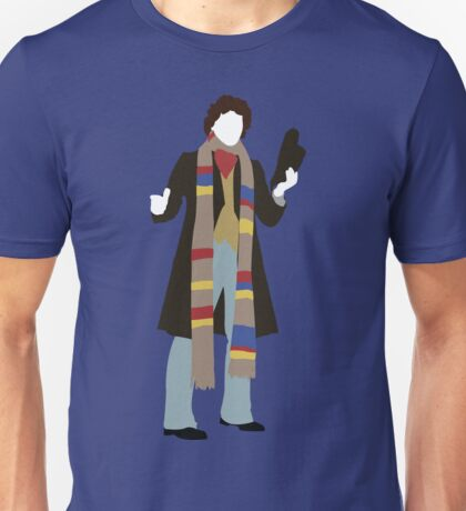 The Fourth Doctor - Doctor Who - Tom Baker Unisex T-Shirt
