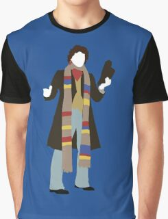 The Fourth Doctor - Doctor Who - Tom Baker Graphic T-Shirt