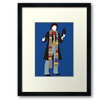 The Fourth Doctor - Doctor Who - Tom Baker Framed Print