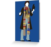 The Fourth Doctor - Doctor Who - Tom Baker Greeting Card