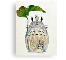 totoro and cie! Canvas Print