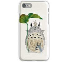 totoro and cie! iPhone Case/Skin