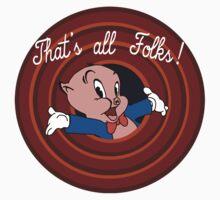 Porky pig Kids Clothes