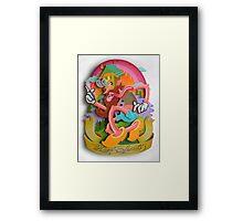"""HIGH SPIRITS"" Framed Print"