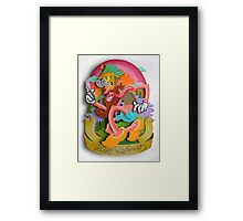 """HIGH SPIRITS"" Framed Print"