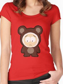 Bear Butters Women's Fitted Scoop T-Shirt