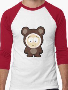 Bear Butters Men's Baseball ¾ T-Shirt
