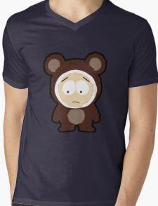 Bear Butters Mens V-Neck T-Shirt