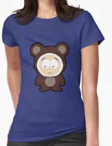 Bear Butters Womens Fitted T-Shirt