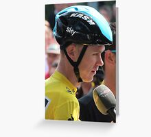 Chris Froome (3), Tour de France 2013 Greeting Card