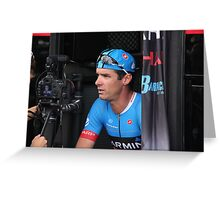 David Millar, Garmin-Sharp Greeting Card