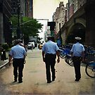 NYPD - NYC by Robert Baker