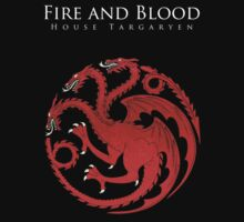 Game Of Thrones - Fire and Blood by weetcho3
