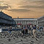 The Square in Venice by Dennis Granzow