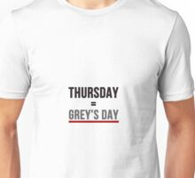 Grey's Day Unisex T-Shirt