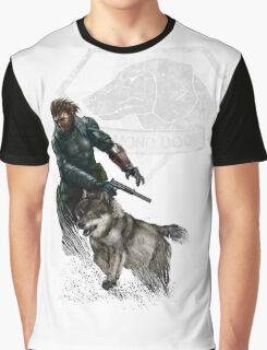 Mercenary Dog Graphic T-Shirt