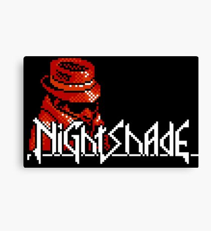 Nightshade - NES Canvas Print
