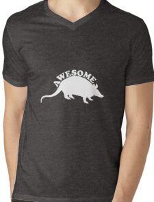 Awesome Possum Mens V-Neck T-Shirt