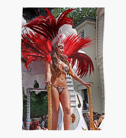 Notting Hill carnival in london Poster