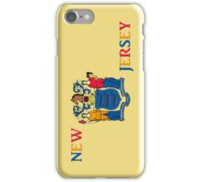 Smartphone Case - State Flag of New Jersey - Vertical III iPhone Case/Skin
